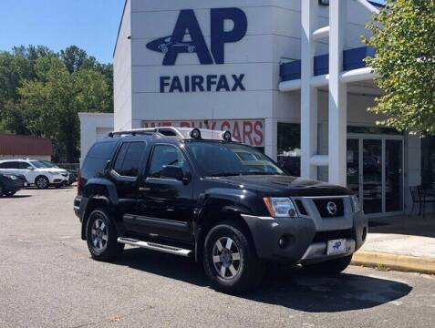 2012 Nissan Xterra for sale at AP Fairfax in Fairfax VA