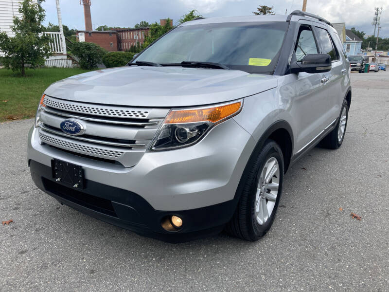2012 Ford Explorer for sale at D'Ambroise Auto Sales in Lowell MA