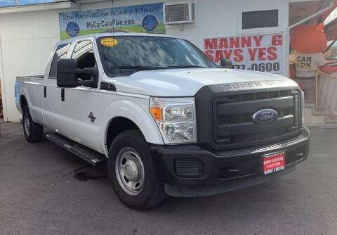 2012 Ford F-350 Super Duty for sale at Manny G Motors in San Antonio TX