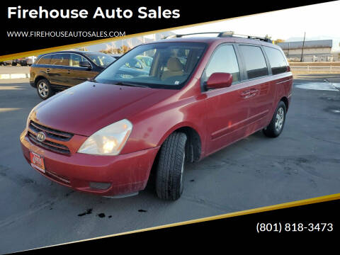 2007 Kia Sedona for sale at Firehouse Auto Sales in Springville UT