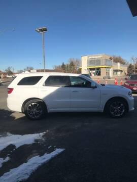 2020 Dodge Durango for sale at STEVE'S AUTO SALES INC in Scottsbluff NE
