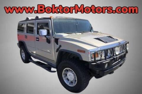 2003 HUMMER H2 for sale at Boktor Motors in North Hollywood CA
