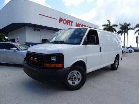 2015 GMC Savana Cargo for sale at Port Motors in West Palm Beach FL