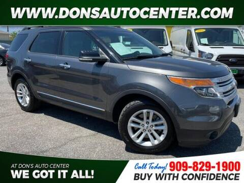 2015 Ford Explorer for sale at Dons Auto Center in Fontana CA