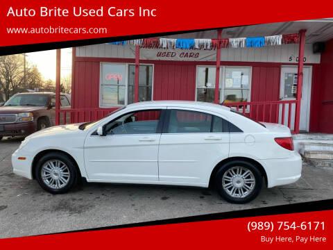2007 Chrysler Sebring for sale at Auto Brite Used Cars Inc in Saginaw MI