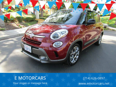 2015 FIAT 500L for sale at E MOTORCARS in Fullerton CA