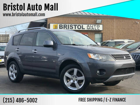 2007 Mitsubishi Outlander for sale at Bristol Auto Mall in Levittown PA