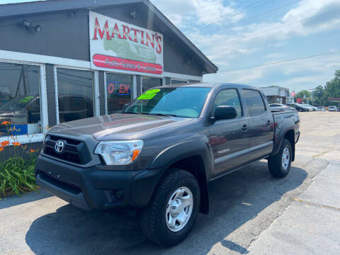 2015 Toyota Tacoma for sale at Martins Auto Sales in Shelbyville KY