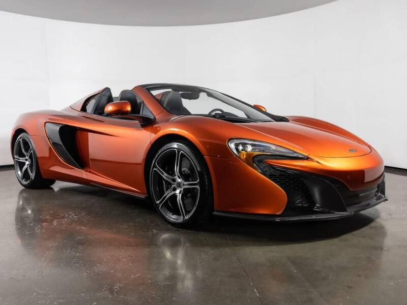 2015 McLaren 650S Spider for sale in Plano, TX