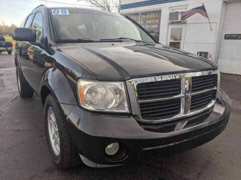 2008 Dodge Durango for sale at GREAT DEALS ON WHEELS in Michigan City IN