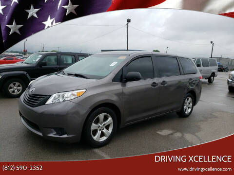 2013 Toyota Sienna for sale at Driving Xcellence in Jeffersonville IN