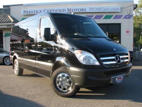 2013 Mercedes-Benz Sprinter Passenger for sale at Prestige Certified Motors in Falls Church VA