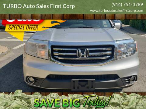 2012 Honda Pilot for sale at TURBO Auto Sales First Corp in Yonkers NY