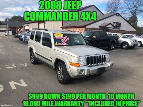 2008 Jeep Commander for sale at D&D Auto Sales, LLC in Rowley MA