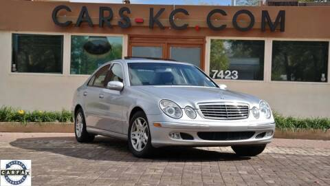 2003 Mercedes-Benz E-Class for sale at Cars-KC LLC in Overland Park KS