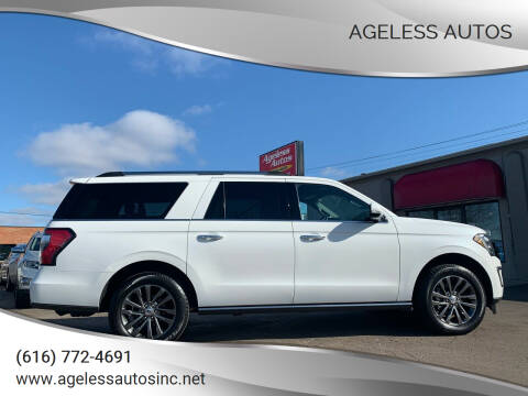 2020 Ford Expedition MAX for sale at Ageless Autos in Zeeland MI