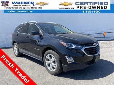 2018 Chevrolet Equinox for sale at WALKER CHEVROLET in Franklin TN