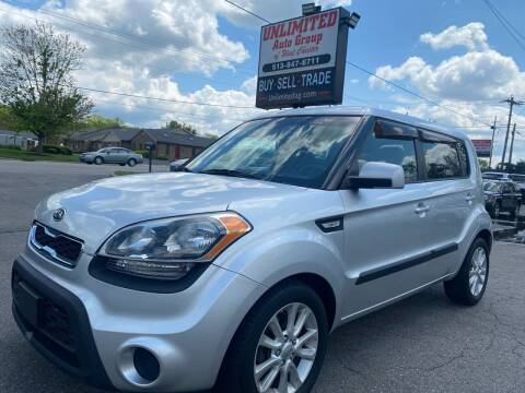 2012 Kia Soul for sale at Unlimited Auto Group in West Chester OH