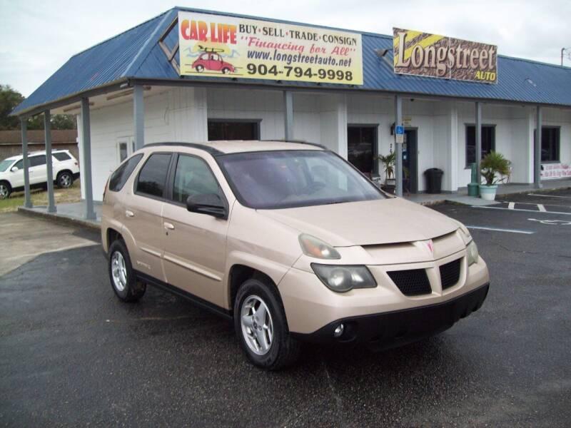 2003 Pontiac Aztek for sale at LONGSTREET AUTO in St Augustine FL