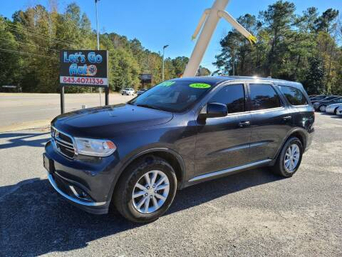 2014 Dodge Durango for sale at Let's Go Auto in Florence SC