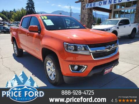 2019 Chevrolet Colorado for sale at Price Ford Lincoln in Port Angeles WA