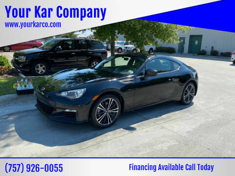 2013 Subaru BRZ for sale at Your Kar Company in Norfolk VA