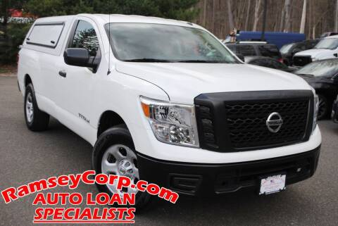 2019 Nissan Titan for sale at Ramsey Corp. in West Milford NJ