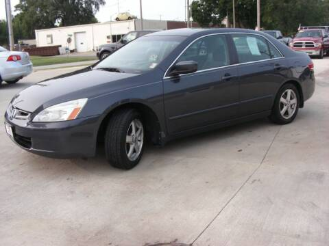 2004 Honda Accord for sale at EURO MOTORS AUTO DEALER INC in Champaign IL