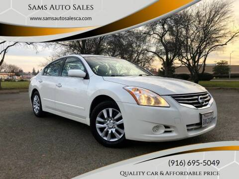 2012 Nissan Altima for sale at Sams Auto Sales in North Highlands CA