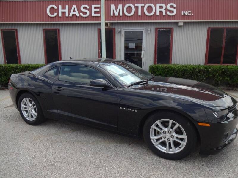 2015 Chevrolet Camaro for sale at Chase Motors Inc in Stafford TX