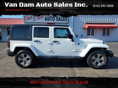 2017 Jeep Wrangler Unlimited for sale at Van Dam Auto Sales Inc. in Holland MI