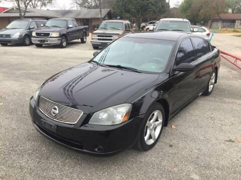 2005 Nissan Altima for sale at John 3:16 Motors in San Antonio TX
