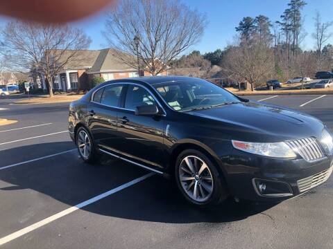 2009 Lincoln MKS for sale at A LOT OF USED CARS in Suwanee GA
