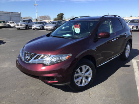 2013 Nissan Murano for sale at My Three Sons Auto Sales in Sacramento CA