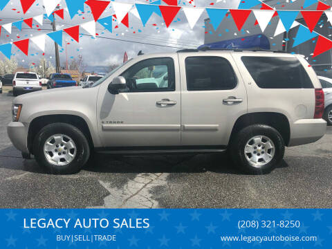 2007 Chevrolet Tahoe for sale at LEGACY AUTO SALES in Boise ID