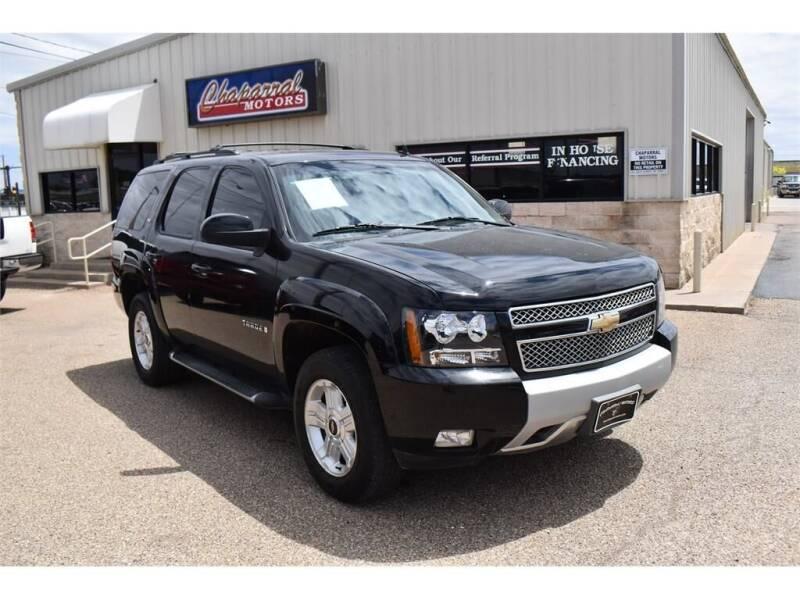 2009 Chevrolet Tahoe for sale at Chaparral Motors in Lubbock TX