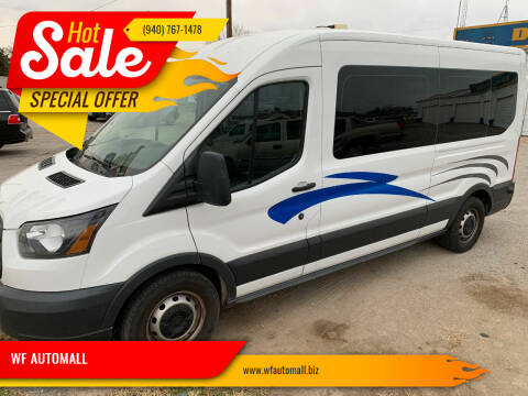 2015 Ford Transit Passenger for sale at WF AUTOMALL in Wichita Falls TX