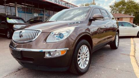 2011 Buick Enclave for sale at TOP YIN MOTORS in Mount Prospect IL