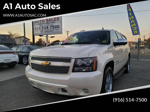 2014 Chevrolet Suburban for sale at A1 Auto Sales in Sacramento CA