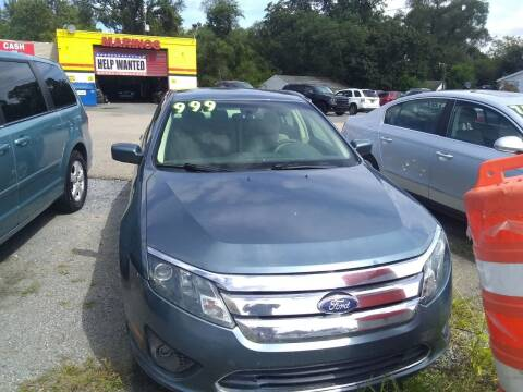 2011 Ford Fusion for sale at Marino's Auto Sales in Laurel DE