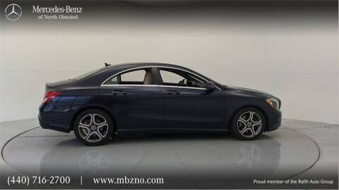 2018 Mercedes-Benz CLA for sale at Mercedes-Benz of North Olmsted in North Olmsted OH