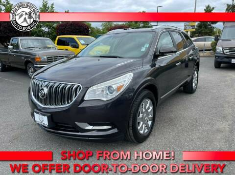 2014 Buick Enclave for sale at Auto 206, Inc. in Kent WA