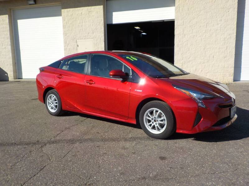 2016 Toyota Prius for sale at Route 65 Sales & Classics LLC in Ham Lake MN
