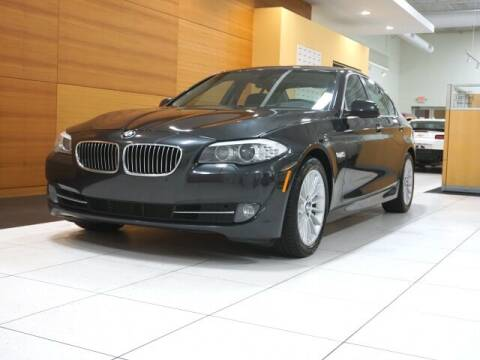 2013 BMW 5 Series for sale at PORSCHE OF NORTH OLMSTED in North Olmsted OH