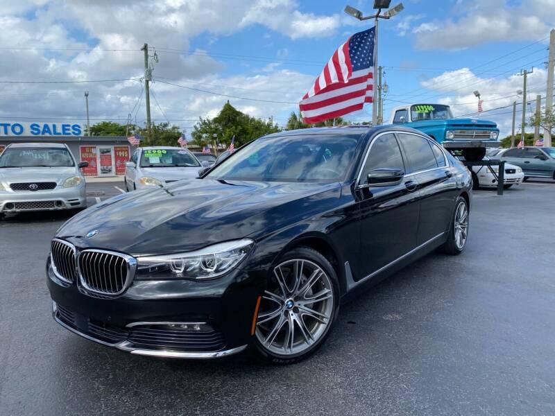 2016 BMW 7 Series for sale at KD's Auto Sales in Pompano Beach FL