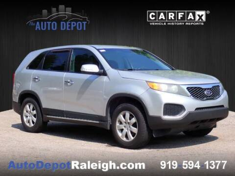 2012 Kia Sorento for sale at The Auto Depot in Raleigh NC