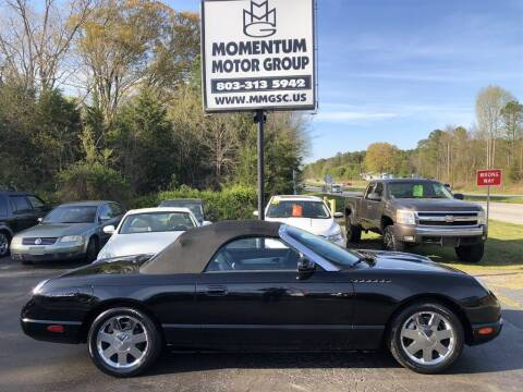 2002 Ford Thunderbird for sale at Momentum Motor Group in Lancaster SC