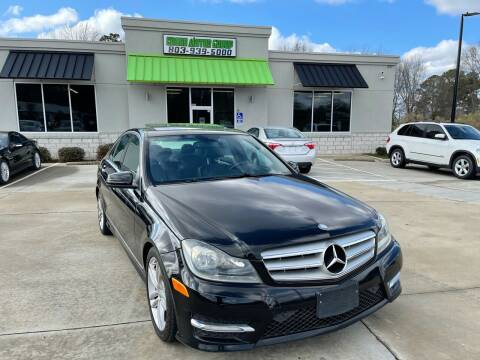 2013 Mercedes-Benz C-Class for sale at Cross Motor Group in Rock Hill SC