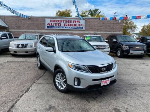 2014 Kia Sorento for sale at Brothers Auto Group in Youngstown OH