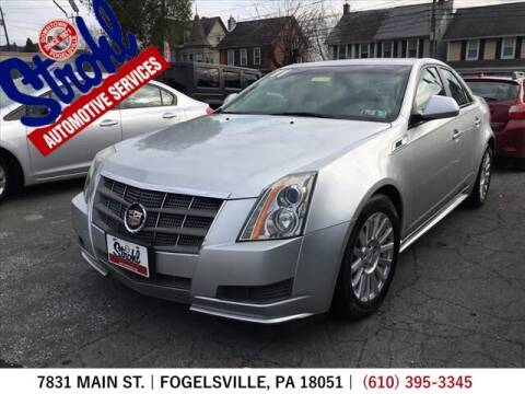 2011 Cadillac CTS for sale at Strohl Automotive Services in Fogelsville PA